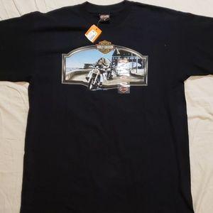 Harley Davidson Warwick Rhode Island Mens XL Shirt